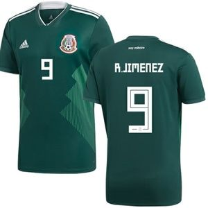 RAUL JIMENEZ MEXICO HOME JERSEY